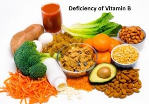Deficiency of Vitamin B